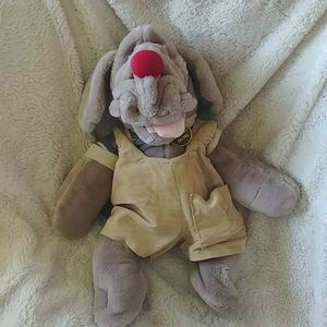 Vintage 1981 Wrinkles plush dog puppet